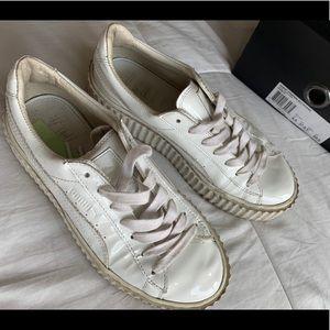 puma fenty white sneakers